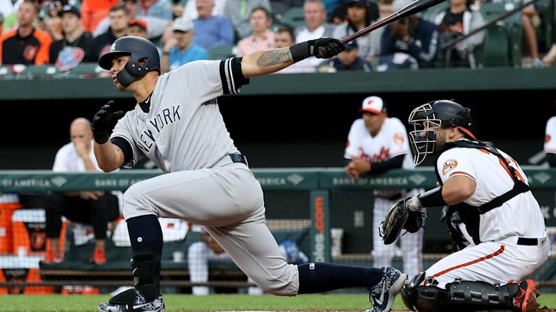 Yankees stay hot, pull away for win over Orioles