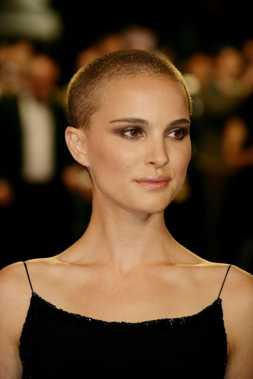 <p>Natalie Portman's buzzcut in V For Vendetta has been inspiring women to take the plunge ever since. </p>