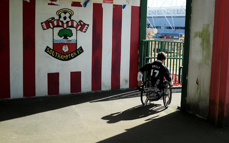 Only three out of 20 Premier League clubs currently meet minimum numbers for wheelchair space - 2013 Getty Images