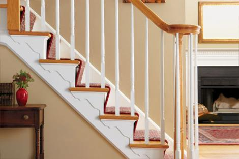 Add Shapely Stair Brackets