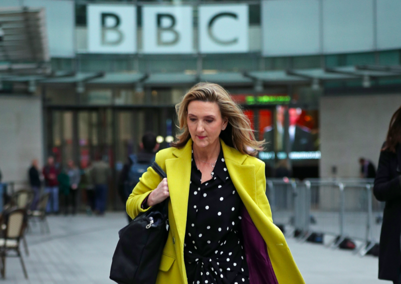 Plans to axe the Victoria Derbyshire show had already been leaked (PA)
