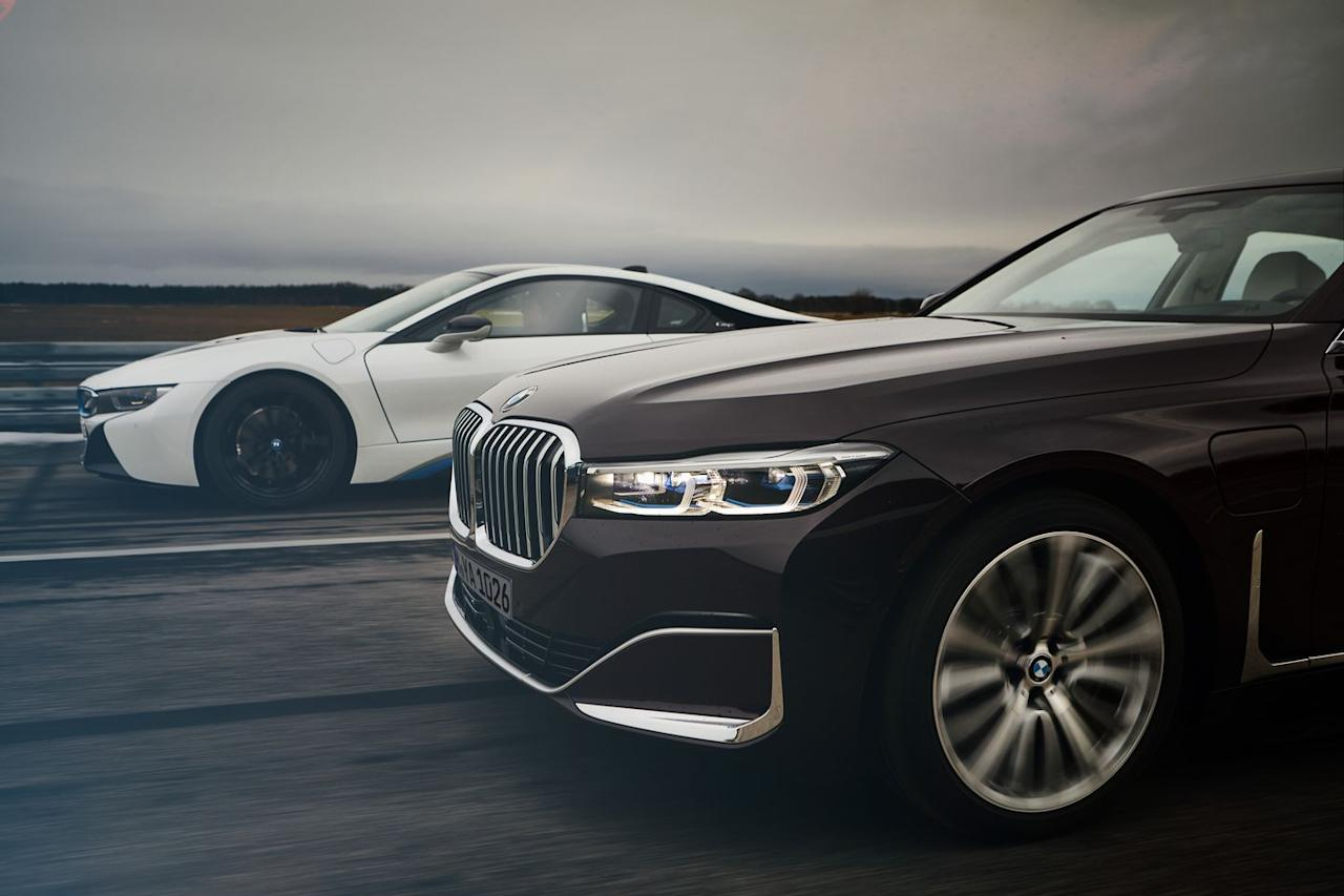 BMW announces new 7 series plug-in hybrids