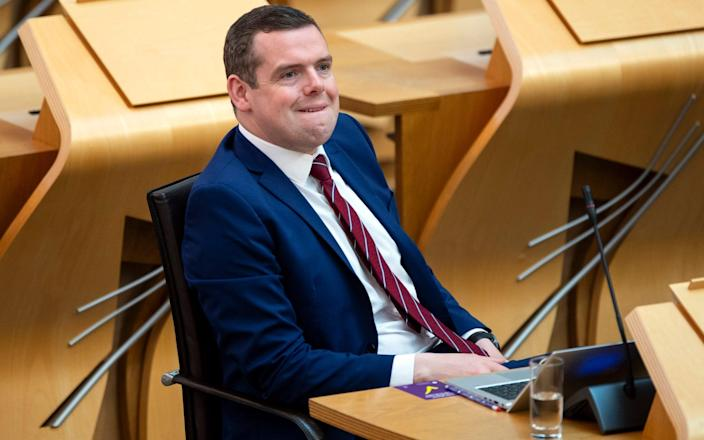 Douglas Ross, the Scottish Tory leader and Moray MP - PA