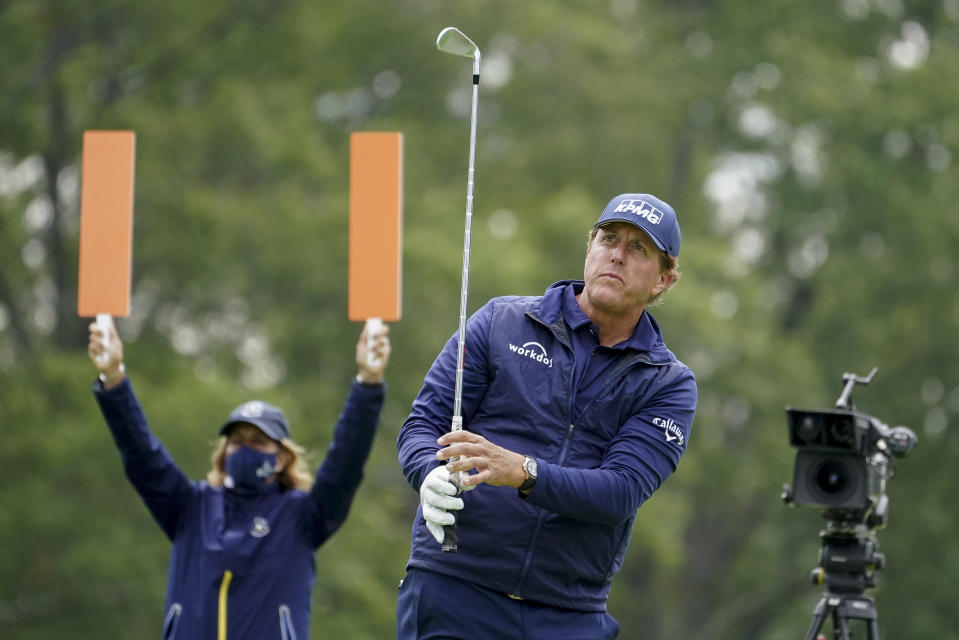 Phil Mickelson at the 2020 US Open