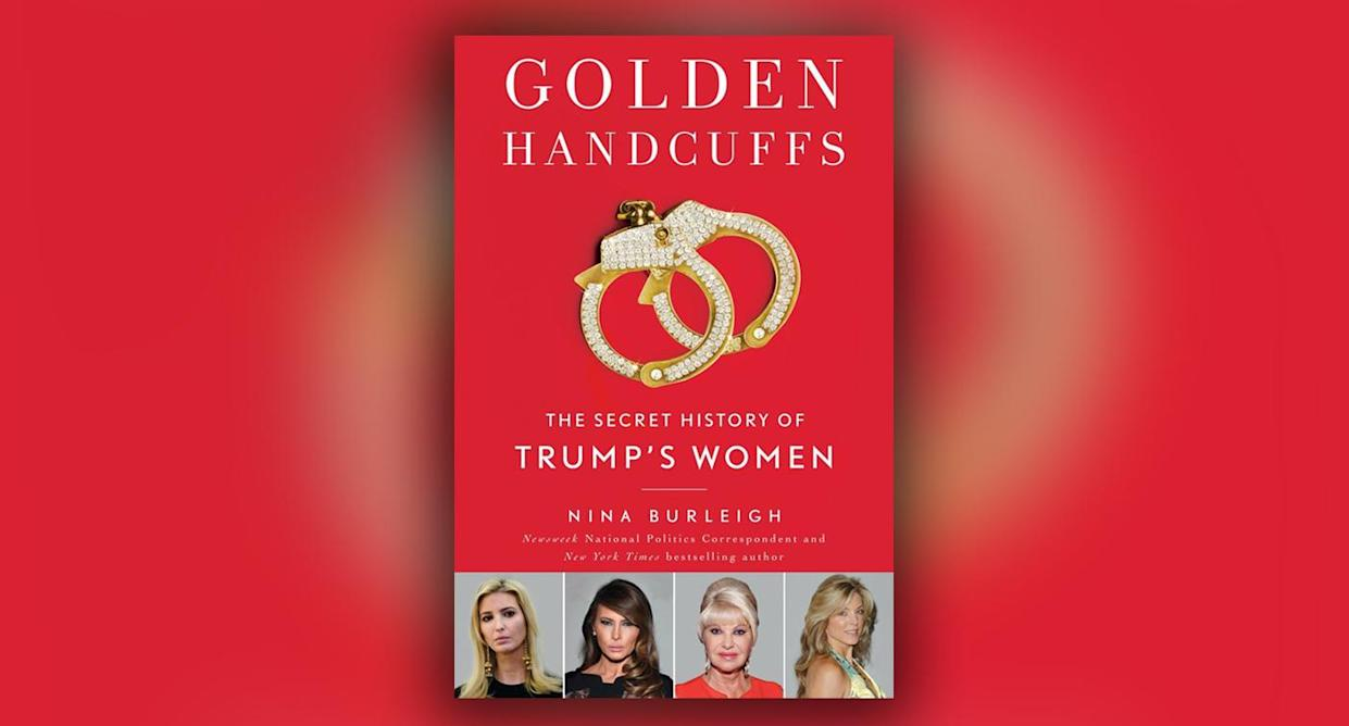 "Book jacket of ""Golden Handcuffs"" by Nina Burleigh. (Photo courtesy of Simon and Schuster)"