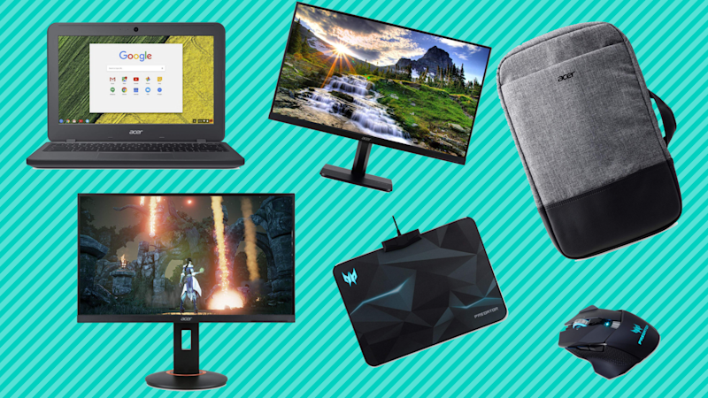 Save up to 50 percent on Acer computer and gaming products. (Photo: Amazon/Yahoo Lifestyle)