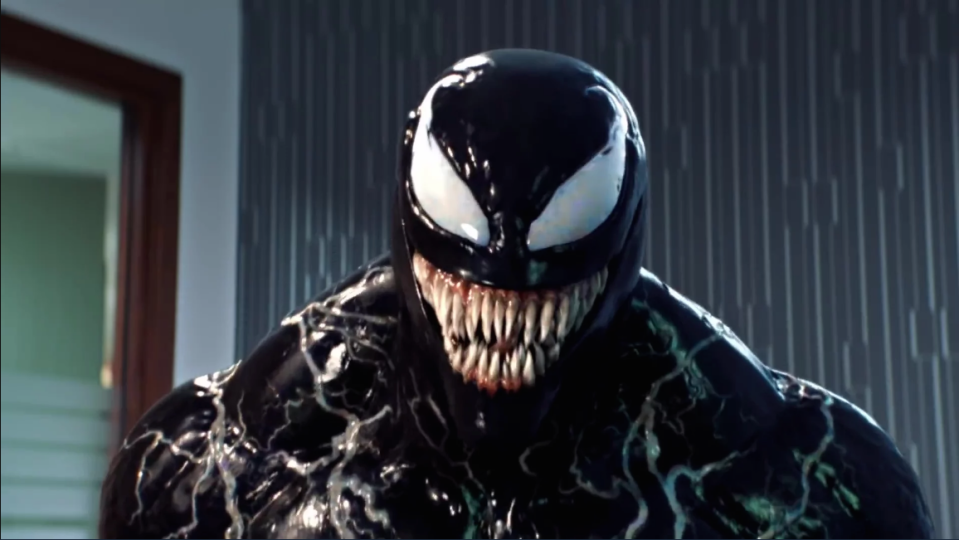 <p>Look, we enjoyed Venom – the dictionary definition of a guilty pleasure. And audiences did too, the film's earned $852,695,076 at the worldwide box office at the time of writing, which is fairly astonishing.<br>Weird, creepy, and truly bizarre, Venom lands near the bottom of our list, but we're still probably going to buy it on Blu-ray. </p>