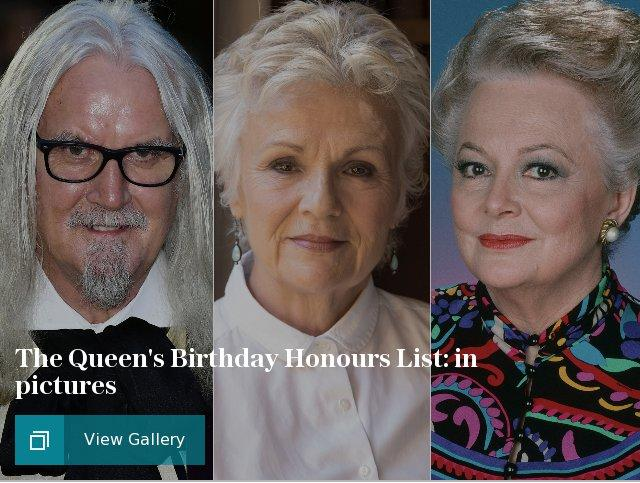 The Queens Birthday Honours List: in pictures