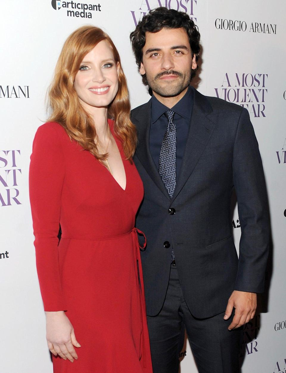 <p>In 2014 the two starred in <em>A Most Violent Year</em>, which earned Chastain a Golden Globe nomination for best supporting actress. </p>