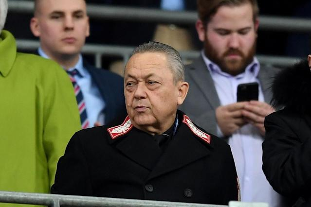 West Ham owners David Sullivan and David Gold plan to attend Southampton game despite fan fury