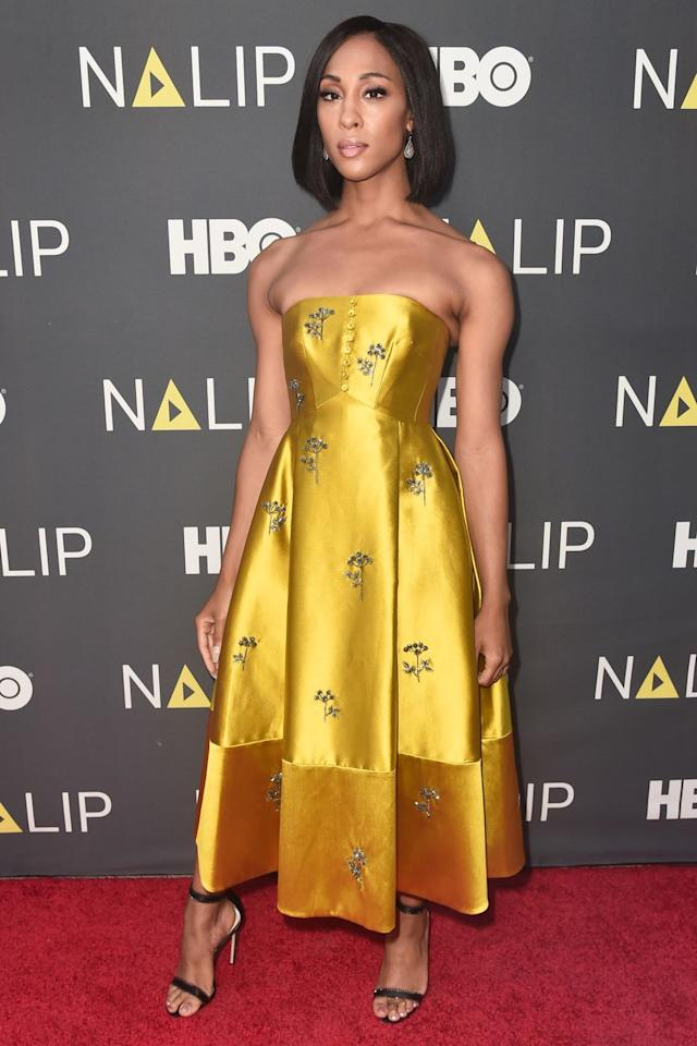 <p>Who: Mj Rodriguez</p><p>When:  July 27, 2019 </p><p>Wearing: Erdem</p><p>Why: A royal Erdem dress is just what mother, I mean MJ Rodriguez of <em>Pose</em>, deserves. But instead of wearing this regal gown to the ballroom, she wore it to the NALIP 2019 Latino Media Awards in Hollywood, California. Her look is fit for royalty, winning her best dressed of the week. </p>