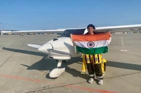 Mumbai: Aarohi Pandit makes aviation history with solo Pacific flight