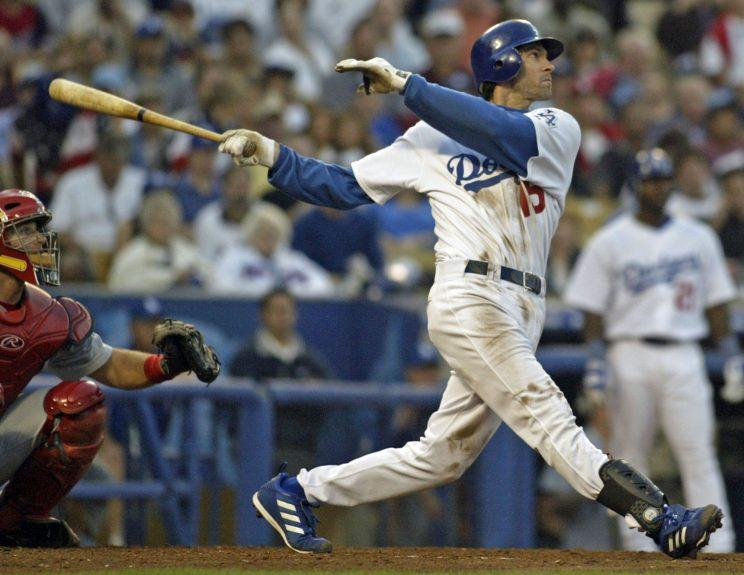 We're going to see if Shawn Green can still hit some bombs. (AP Photo)