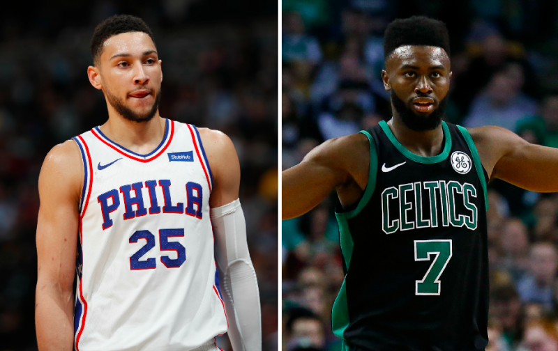 the best attitude 92832 6962b Ben Simmons, Jaylen Brown send cryptic tweets after another ...