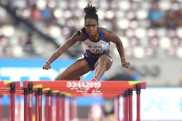 Cindy Ofili also qualified (Martin Rickett/PA)