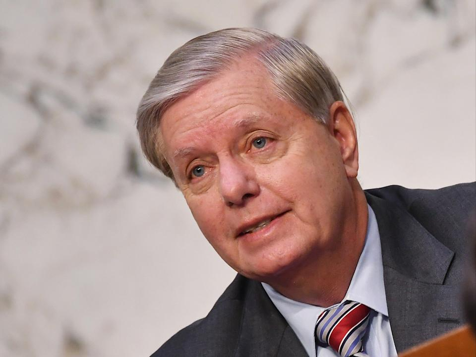 Senate Judiciary Chairman Lindsey Graham faces backlash for not calling Facebook and Twitter CEO's to a hearing before Election Day (EPA)