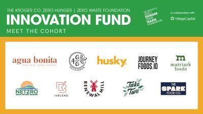 The Kroger Co. Zero Hunger   Zero Waste Foundation today announced the second cohort of its Innovation Fund, featuring 10 startups with ideas and solutions to prevent food waste.