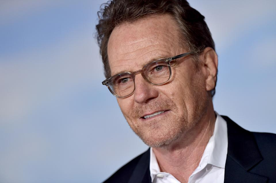 "WESTWOOD, CALIFORNIA - OCTOBER 07: Bryan Cranston attends the Premiere of Netflix's ""El Camino: A Breaking Bad Movie"" at Regency Village Theatre on October 07, 2019 in Westwood, California. (Photo by Axelle/Bauer-Griffin/Getty Images)"