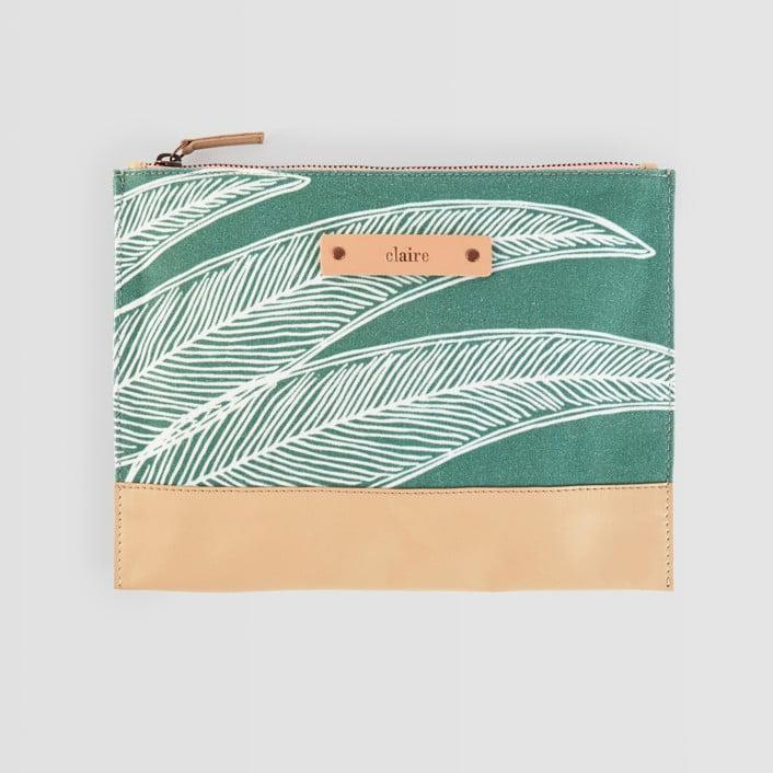 <p>This adorable <span>Casual Clutch</span> ($28) from Minted comes in a bunch of patterns and can be personalized with your tween's name.</p>