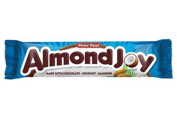 """<p><strong>Almond Joy</strong><br></p><p>While its partner candy bar Mounds has been around for almost a century, Almond Joy didn't join the game until a little later. While Mounds were already becoming a classic among Americans, the <a href=""""https://www.hersheys.com/almondjoy-mounds/About"""" rel=""""nofollow noopener"""" target=""""_blank"""" data-ylk=""""slk:demand for milk chocolate was increasing steadily"""" class=""""link rapid-noclick-resp"""">demand for milk chocolate was increasing steadily</a>, leading to the development of the Almond Joy candy bar. </p>"""