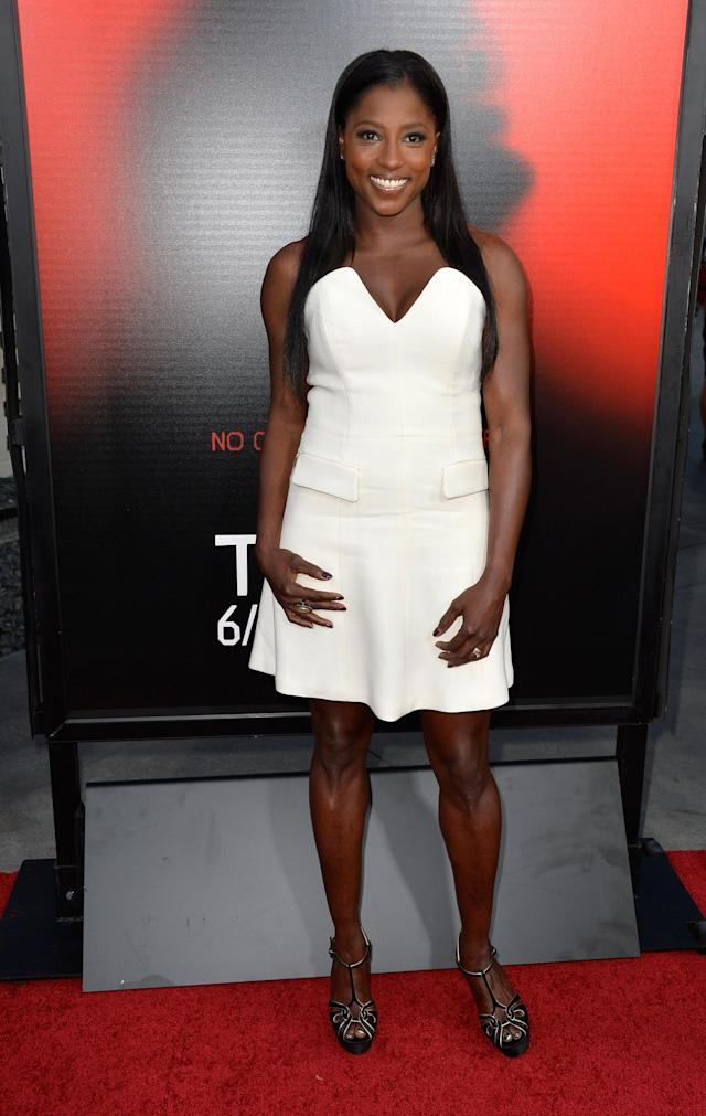 HOLLYWOOD, CA - JUNE 11: Actress Rutina Wesley attends the premiere of HBO's 'True Blood' Season 6 at ArcLight Cinemas Cinerama Dome on June 11, 2013 in Hollywood, California. (Photo by Frazer Harrison/Getty Images)