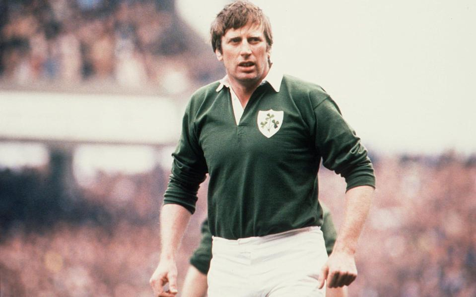 Moss Keane playing for Ireland - INPHO