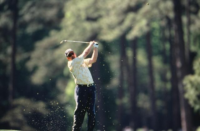 "<p>Playing in the 2000 Masters for the first time at 37 years old, ""the Chief"" made the most of his first day, hanging up a 68 to take a one-shot lead. Though he went eight shots higher on Friday, Paulson still managed to finish inside the top 15.</p>"