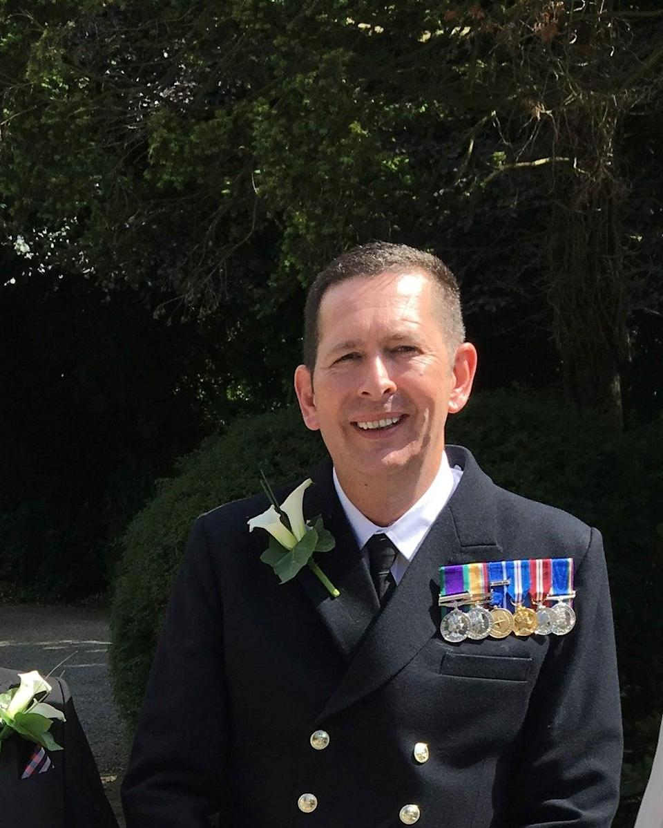Second Officer Paul Owen(Department for Transport/PA)