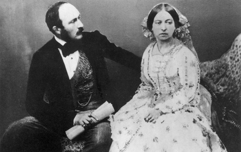 Prince Albert and Queen Victoria - Roger Fenton/Getty Images