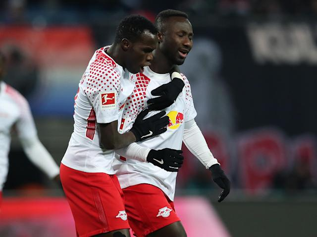 Naby Keita was in fine form as Leipzig beat Bayern: Getty