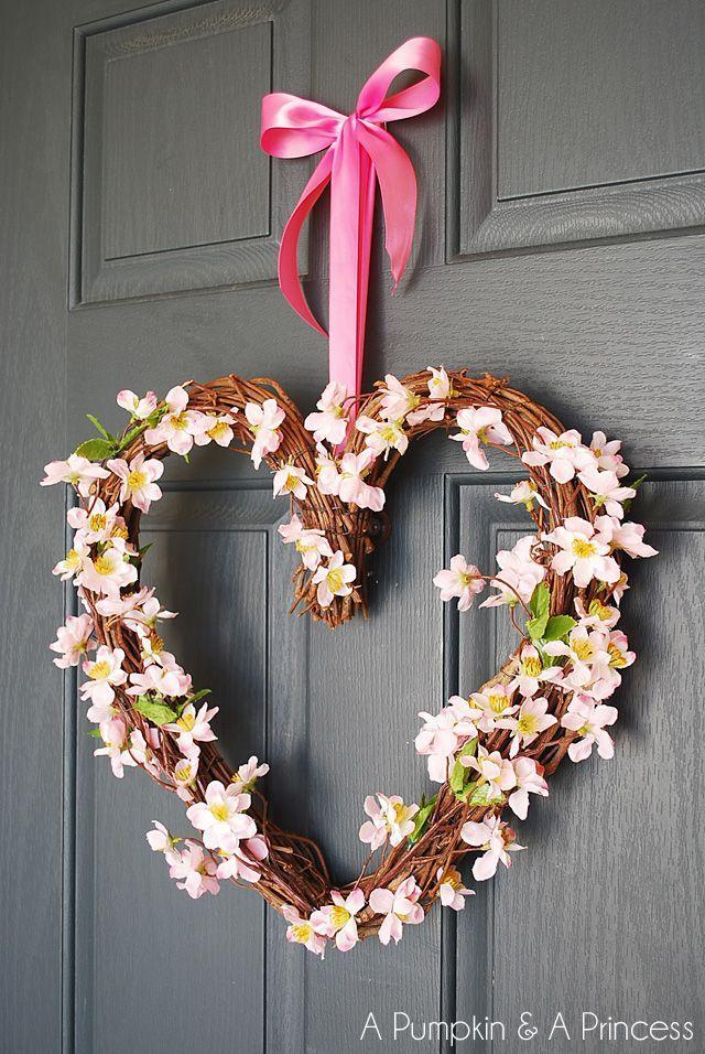 """<p>Super simple, this craft uses grapevine in a heart shape as the basis for the wreath. If you don't have time to gather your own grapevine use a store-bought wreath and make it even easier!</p><p><strong>Get the tutorial at <a href=""""https://apumpkinandaprincess.com/heart-grapevine-wreath/"""" rel=""""nofollow noopener"""" target=""""_blank"""" data-ylk=""""slk:A Pumpkin and a Princess"""" class=""""link rapid-noclick-resp"""">A Pumpkin and a Princess</a>.</strong></p><p><a class=""""link rapid-noclick-resp"""" href=""""https://www.amazon.com/heart-grapevine-wreath/s?k=heart+grapevine+wreath&tag=syn-yahoo-20&ascsubtag=%5Bartid%7C10050.g.35057743%5Bsrc%7Cyahoo-us"""" rel=""""nofollow noopener"""" target=""""_blank"""" data-ylk=""""slk:SHOP GRAPEVINE WREATHS"""">SHOP GRAPEVINE WREATHS</a><br></p>"""