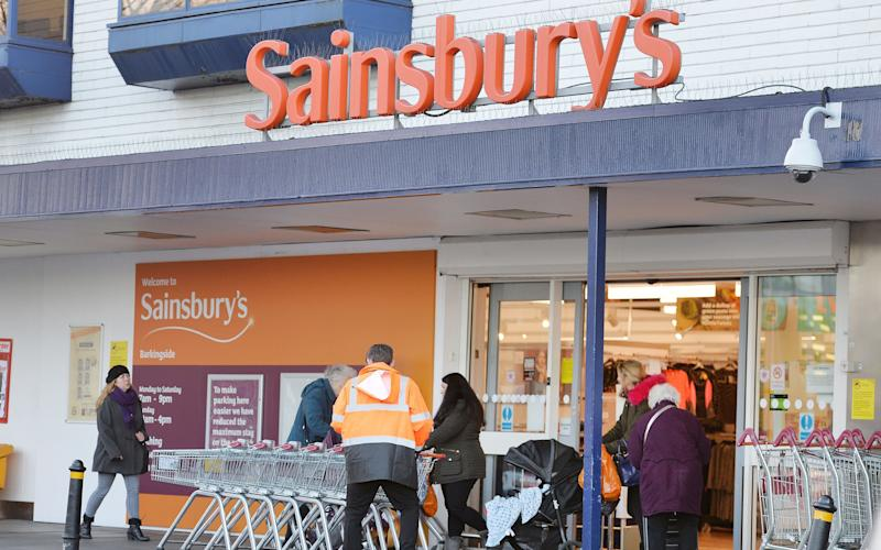 The letter to Theresa May says staff morale at Sainsbury's is at an 'all time low' - John Stillwell/PA