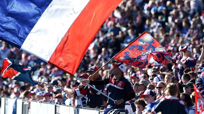Fans rejoice as the Sydney Roosters are named winners of Thursday's 2018 NRL draw announcement.