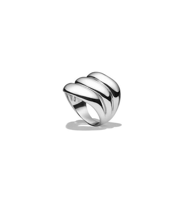 "<p>Agmes triple wave ring, $290, <a href=""https://agmesnyc.com/products/triple-wave-ring"" rel=""nofollow noopener"" target=""_blank"" data-ylk=""slk:agmesnyc.com"" class=""link rapid-noclick-resp"">agmesnyc.com</a> </p>"