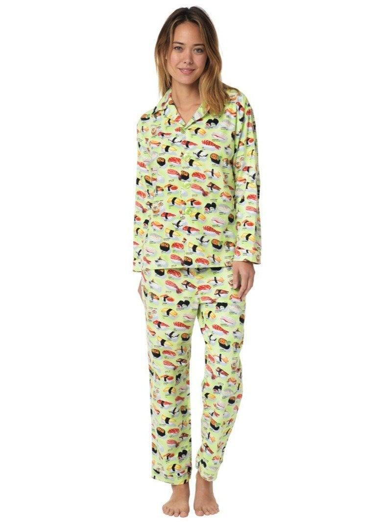 <p>Soft, warm, and ultracozy, who wouldn't love <span>The Cat's Pajamas Sushi Flannel Pajama Set</span> ($108)?</p>