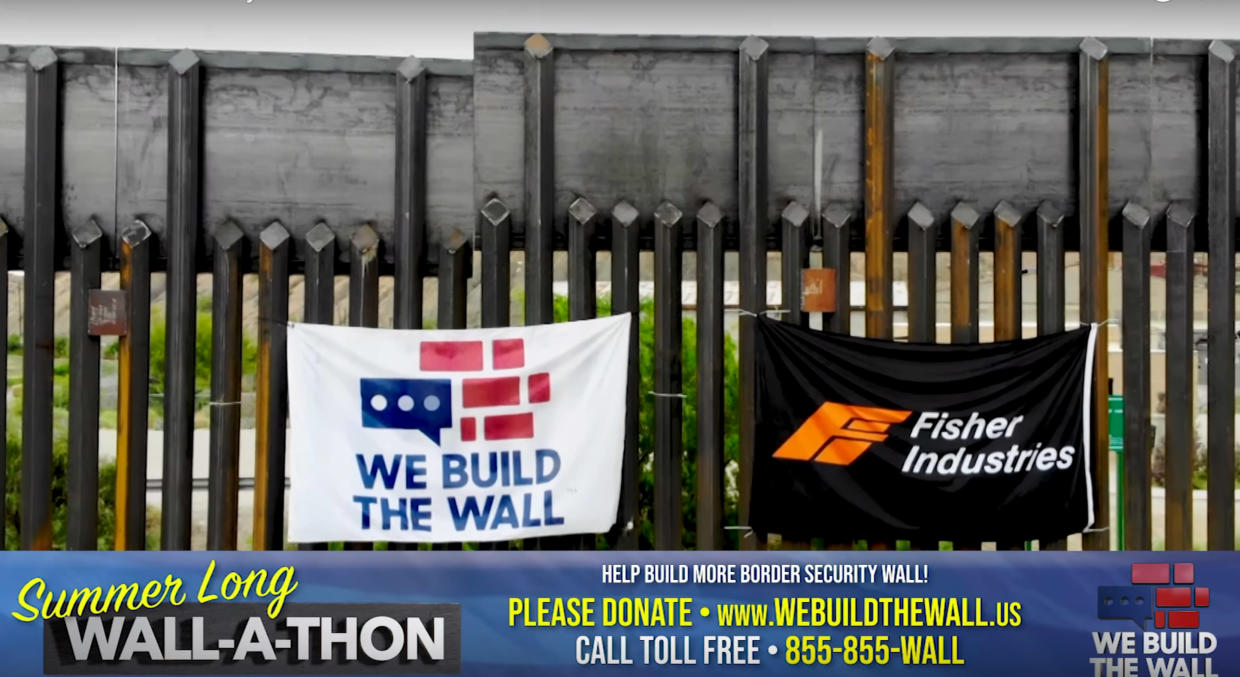 'We Build the Wall Wall-A-Thon'. (Screengrab: via YouTube)