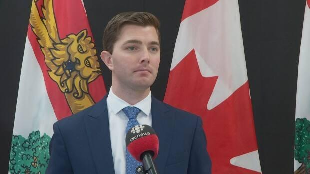 Montague-Kilmuir MLA Cory Deagle says other parts of the Island have better, longer access to emergency care than Kings County Memorial Hospital. (Brittany Spencer/CBC - image credit)