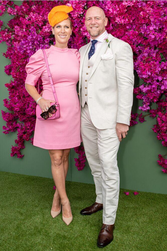 Zara and Mike Tindall | Marc Grimwade/Getty