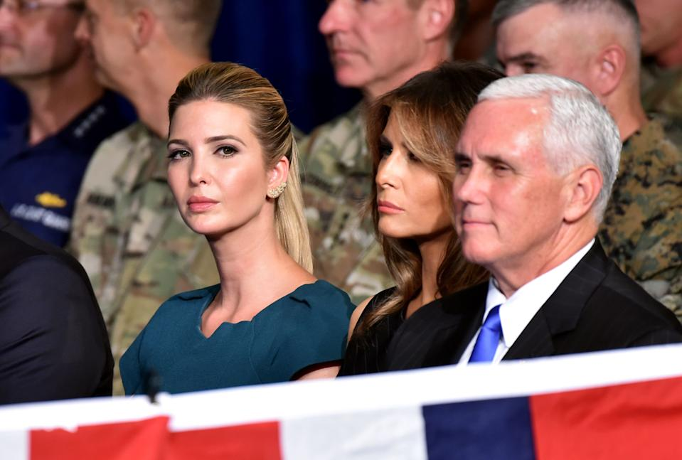 Ivanka Melania Mike Pence Republican convention