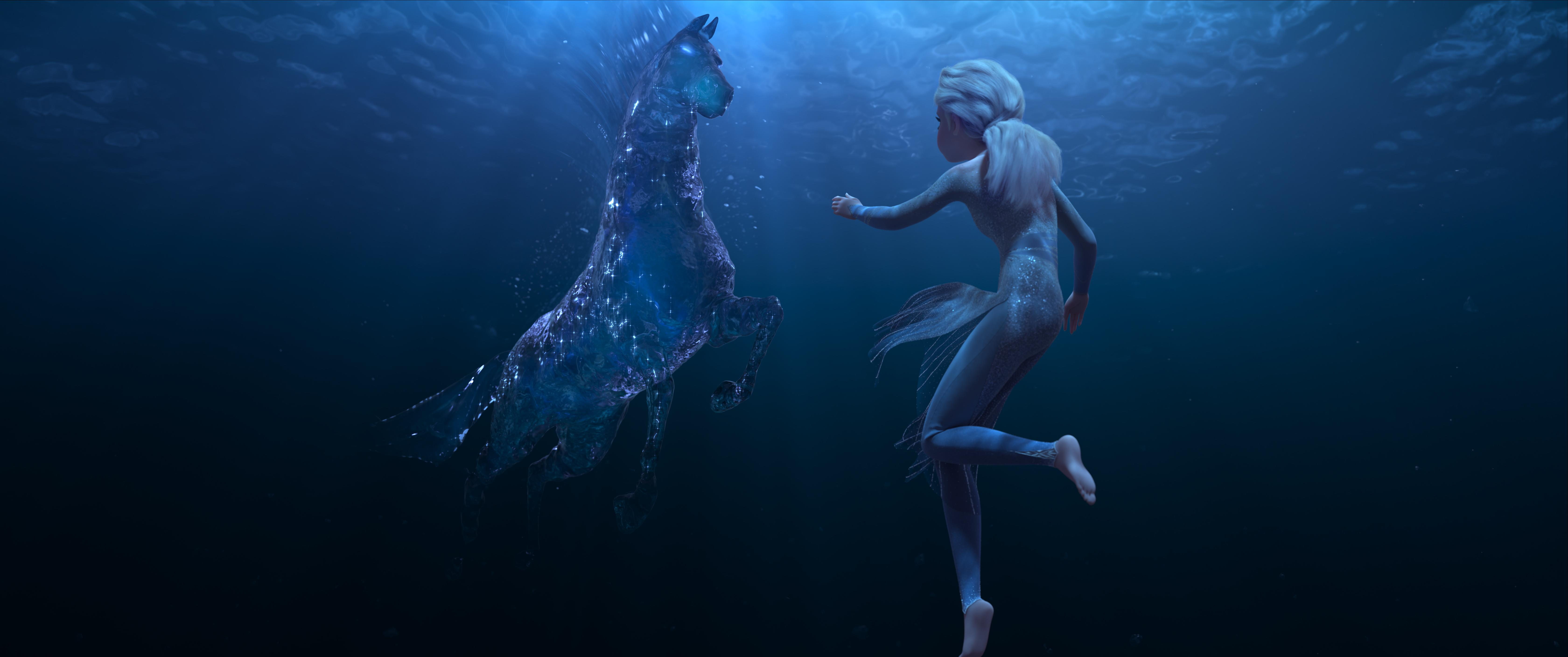 Elsa meets a mythical water spirit in the all-new 'Frozen II' trailer (Photo: Walt Disney Animation Studios)