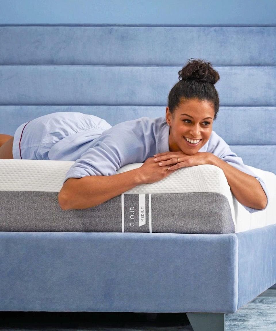 """<h3><a href=""""https://www.tempurpedic.com/shop-mattresses/tempur-cloud-mattress/v/3190/"""" rel=""""nofollow noopener"""" target=""""_blank"""" data-ylk=""""slk:Tempur-Pedic TEMPUR-Cloud Mattress"""" class=""""link rapid-noclick-resp"""">Tempur-Pedic TEMPUR-Cloud Mattress</a></h3><br><strong>Mattress Type: </strong>Memory Foam<br><strong>Sleeper Style: </strong>Side<br><strong>Pros: </strong>Pressure Relief<br><strong>Cons: </strong>Acclimation Period<br><br>""""My partner and I had been sleeping on a 2008 IKEA Sultan mattress for years (a purchase I made for my first apartment after college). And, after 12 years of this mattress being moved in and out of numerous apartments, houses, and cities, it was time for a change."""" <br><br>""""The entire process from delivery to set up was quick and simple. The mattress was delivered in a very timely manner and surprisingly came packaged in a drawstring canvas bag with easy directions for set up. I was able to remove it from the bag, unroll it, and it was ready to be used that evening! It was seriously as easy as 1, 2, sleep!""""<br><br>""""At first, it was a little touch and go with the Tempur-Cloud because we had never owned an all-foam mattress before — and, to be honest, had forgotten what a good night's sleep felt like. But, after sleeping on the new mattress for about 2 weeks, our bodies adapted to it and it truly started to feel like we were (as the name suggests) sleeping on a cloud. It's plush, supportive, and comfortable — and we love how it adapts to our respective weights, shapes, and body temperatures. (We also have the <a href=""""http://tempurpedic.com/shop-pillows/tempur-cloud-breeze-dual-cooling/"""" rel=""""nofollow noopener"""" target=""""_blank"""" data-ylk=""""slk:Tempur-Cloud Breeze Dual Cooling Pillow"""" class=""""link rapid-noclick-resp"""">Tempur-Cloud Breeze Dual Cooling Pillow</a>, and the combo of both the pillow and mattress is life-changing.) This really is the best mattress.""""<br><br><strong>Tempur-Pedic</strong> TEMPUR-Cloud®, $, available at <a href=""""https://go."""