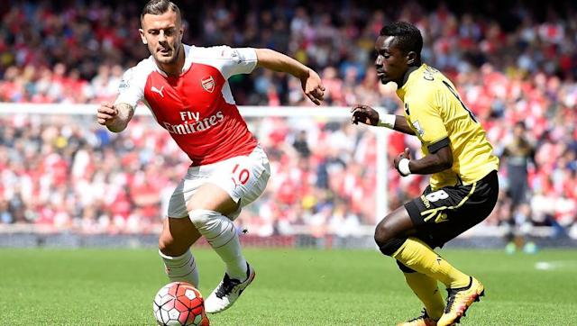 <p>The most obvious and probably Wilshere's first choice destination.</p> <p>Having joined the club at nine years old, Wilshere would go on to make 159 appearances for the Gunners. Yet recurring and lengthy injuries meant that Arsene Wenger feels he can no longer rely on the midfielder.</p> <p>And with the level of competition at Arsenal for centre-midfield (Cazorla, Ramsey, Elneny, Coquelin and Xhaha), there is the possibility Wilshere may fancy somewhere with a greater possibility of first team football.</p>