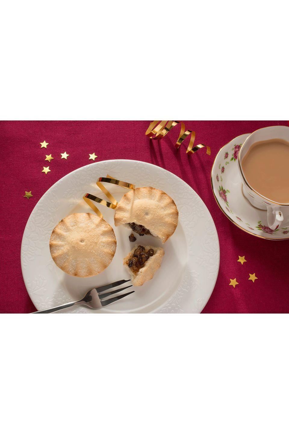 "<p><strong>Overall score: 60/100</strong></p><p>These sizeable mince pies are baked golden and have a mildly sweet aroma. There is a gentle sweet flavour from the classic mincemeat combination of vine fruits and apple puree. The pastry is buttery but has a thick and dense consistency, which overshadowed the filling. </p><p><strong><a class=""link rapid-noclick-resp"" href=""https://go.redirectingat.com?id=127X1599956&url=https%3A%2F%2Fwww.ocado.com%2Fproducts%2Flovemore-gluten-free-luxury-mince-pies-97806011&sref=https%3A%2F%2Fwww.goodhousekeeping.com%2Fuk%2Ffood%2Ffood-reviews%2Fg23783723%2Fbuy-the-best-gluten-free-mince-pies-this-christmas%2F"" rel=""nofollow noopener"" target=""_blank"" data-ylk=""slk:BUY NOW"">BUY NOW</a> Ocado, £2.50 for 4 (serves 4) </strong></p>"