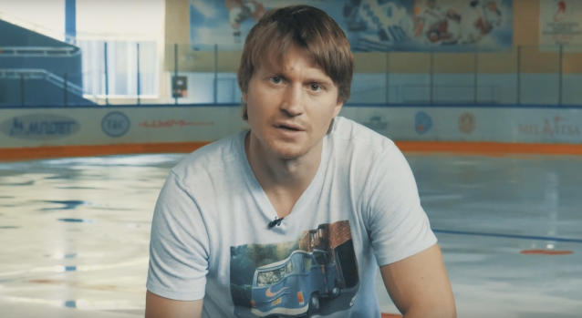 The first video on Mikhail Grabovski's YouTube channel announced his retirement from hockey following 10 NHL seasons. (YouTube// Mikhail Grabovski)