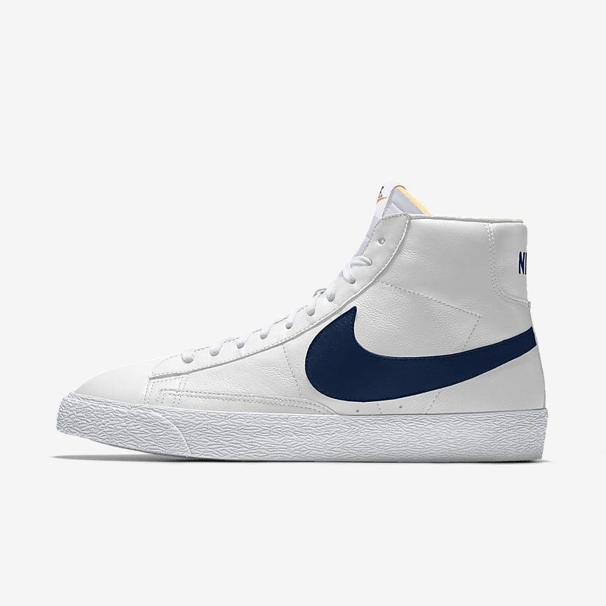 """<p><span>Nike Blazer Mid Sneakers</span> ($120)</p> <p>""""I really like these sneakers because the colors are customizable. The sky is the limit with what you can do with the design."""" - Macy Cate Williams, senior editor, Shop</p>"""
