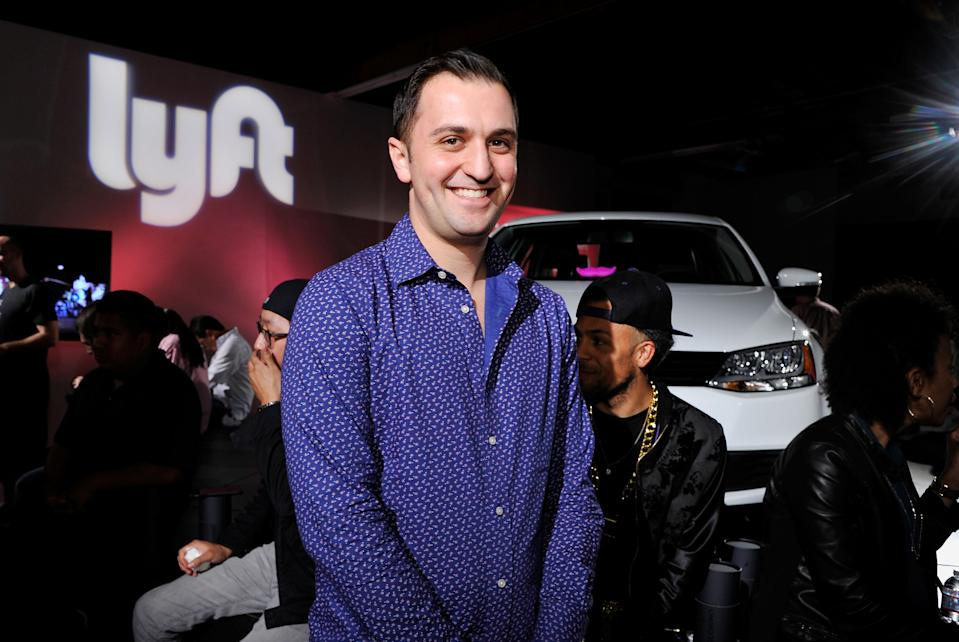 HOLLYWOOD, CA - JANUARY 27:  Lyft Co-founder, John Zimmer attends the Lyft driver rally at Siren Studios on January 27, 2015 in Hollywood, California.  (Photo by John Sciulli/Getty Images for Lyft)