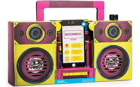 Mustard Boombox Speaker - Credit: Amazon