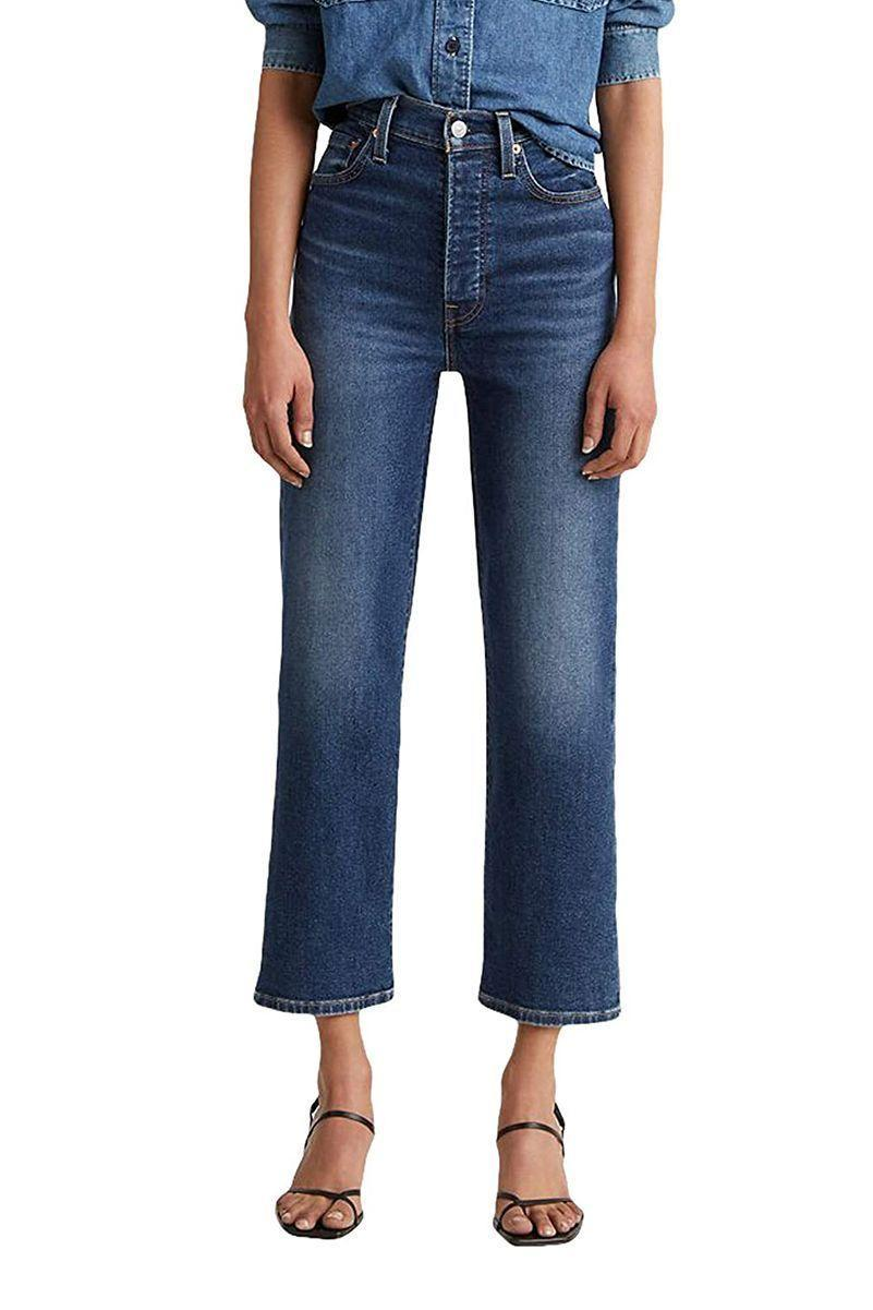 """<p><strong>Levi's</strong></p><p>amazon.com</p><p><strong>$69.50</strong></p><p><a href=""""https://www.amazon.com/dp/B081YXNPCR?tag=syn-yahoo-20&ascsubtag=%5Bartid%7C10056.g.37331732%5Bsrc%7Cyahoo-us"""" rel=""""nofollow noopener"""" target=""""_blank"""" data-ylk=""""slk:Shop Now"""" class=""""link rapid-noclick-resp"""">Shop Now</a></p><p>Take it from the so-called Levi's connoisseur leading the five-star reviews on the ribcage jean: """"These jeans are perfect."""" Across waistband sizes and inseam lengths, other Amazon shoppers love the ribcage jean's extra high-rise and relaxed fitting leg. Your turn to join the hype.</p>"""