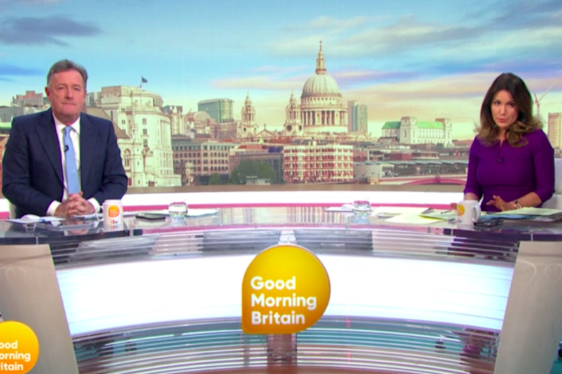 Morgan and Reid have been staying two metres apart while hosting the show during lockdown (ITV)