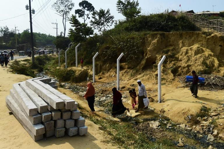 The Rohingya refugees are already forbidden to leave the camps although their sprawling nature means authorities have been unable to police all their movements (AFP Photo/MUNIR UZ ZAMAN)
